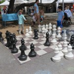 Art City Austin chess board