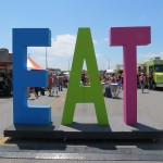 Art City Austin EAT sign