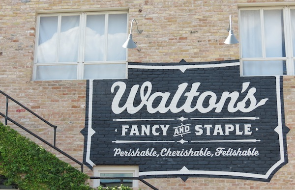 Walton's Fancy & Staple exterior
