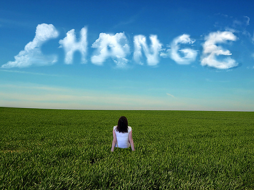 Life musings, on change